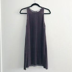 Aritzia Wilfred Trompette Velvet Dress